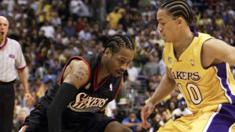Siêu kinh điển NBA finals: Allen Iverson vs Lakers tại Game 1 Finals 2001